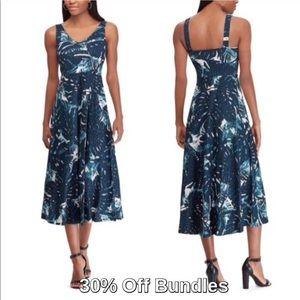 Chaps by Ralph Lauren   Fit & Flare Midi Dress